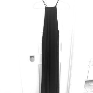 Show Me Your Mumu - Black Chiffon Maxi Dress l